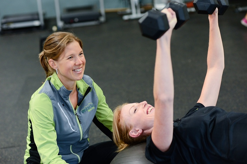 Rozciąganie mięśni klatki piersiowej